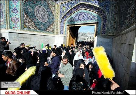 کبوتر حرم-خاطرات خدمت در حرم امامرضا علیهالسلام-عیدی اصفهانی