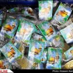بستهبندی نبات متبرک جرم امامرضا علیهالسلام