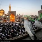 کبوتر حرم-خاطرات خدمت افتخاری در حرم امامرضا علیهالسلام-نماز دونفره